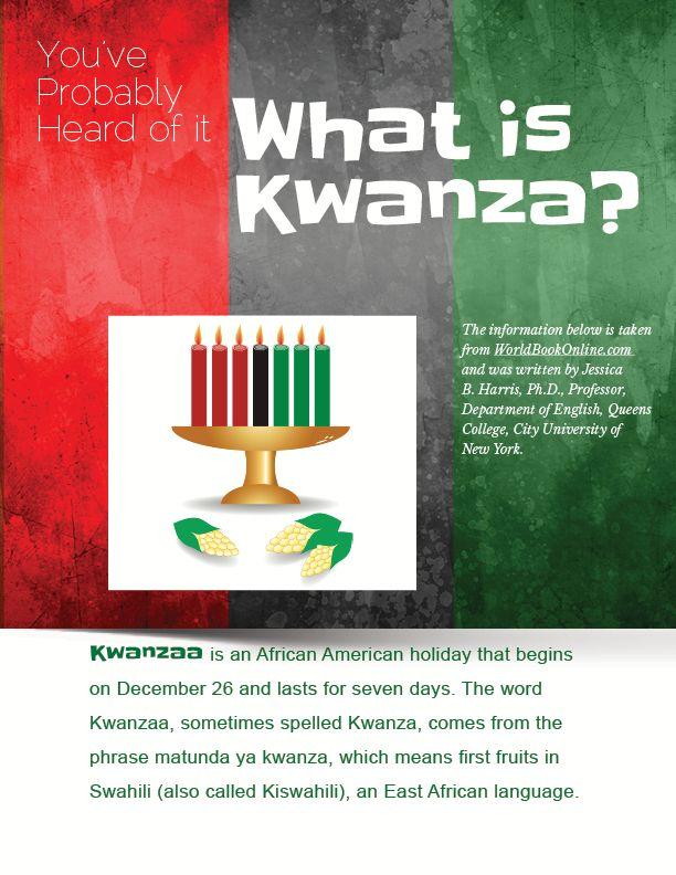 What is Kwanza?  http://www.homeschool.com/magazine/volume01/issue08/#slider