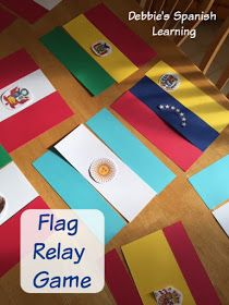Flag Relay Game