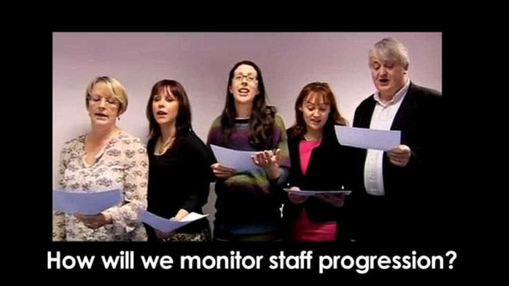 The NIACE choir sings 'Thank You For The Data'