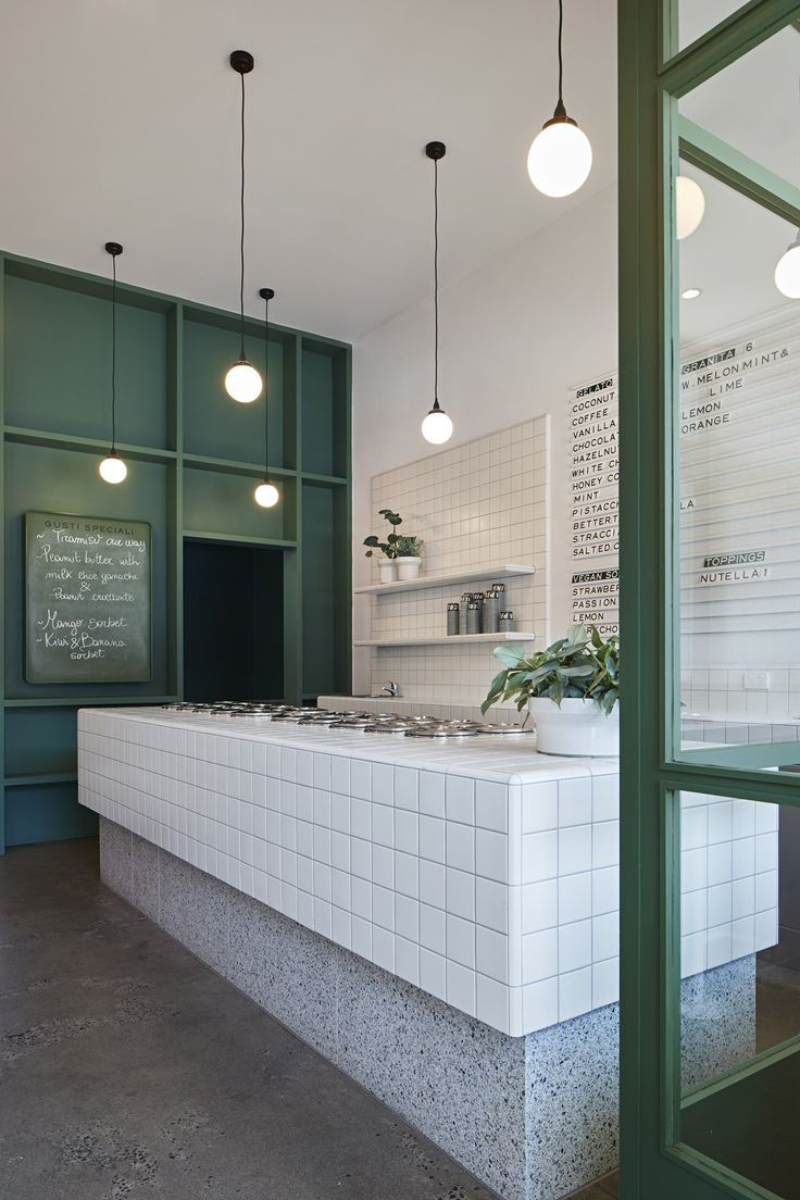 Piccolina Gelateria by Hecker Guthrie – Local Interior Design – Melbourne