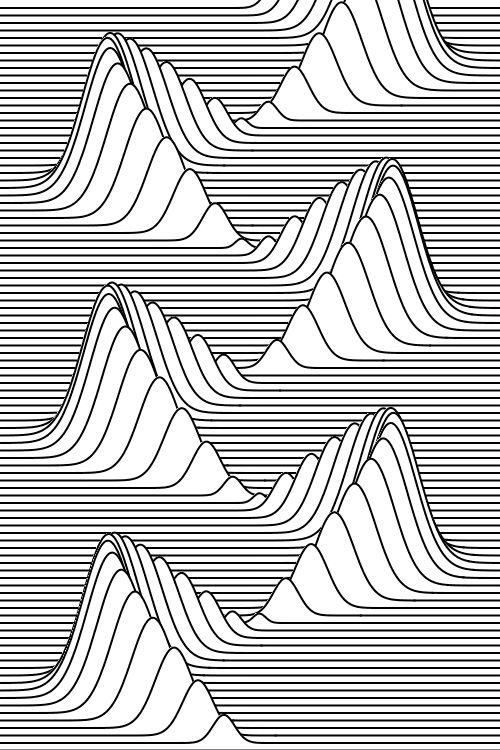 gif drawing art trippy beautiful pencil line Sketch pen contour ...