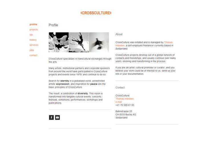 Cross Culture Website