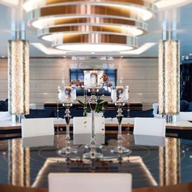 Pillar lights for 63m Yacht Irimari by saken glass#yachtinterior #pillarlights#lightsculpture #glasslightsculpture #glass#lighting#interiordesign #sütunaydınlatma#istanbul #sakendesign#sakenglass