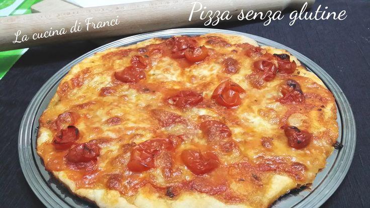 La pizza senza glutine con solo 40 minuti di lievitazione.Veloce e buona!Ho usato farina Auchan.
