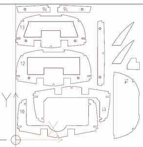 Riva Aquarama Frame Kit Plans Sheet 3