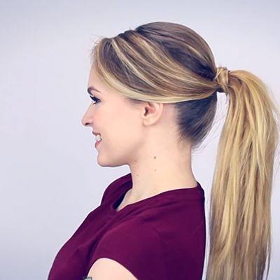 Une queue-de-cheval parfaite en 5 minutes sur http://www.flair.be/fr/coiffures/317681/une-queue-de-cheval-parfaite-en-5-minutes