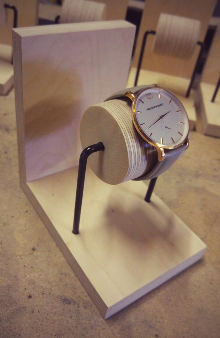 Birch Plywood Watch Display                              …