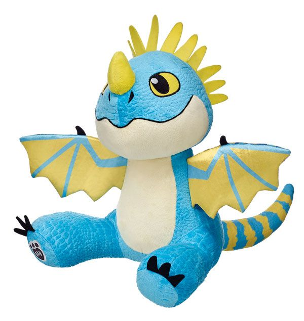 Stormfly from Build A Bear. I have Stormfly from Build A Bear today and I loved her just as much I love my plush Toothless from Build A Bear as well. <3