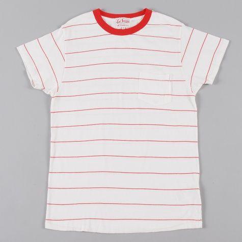 Levis Vintage Clothing Levis Vintage 50s Sportwear T-Shirt - Red/ White Stripe (@Corey Miller )