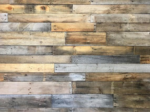 Reclaimed Wood Boards Standard Mix 3 99 Sq Ft