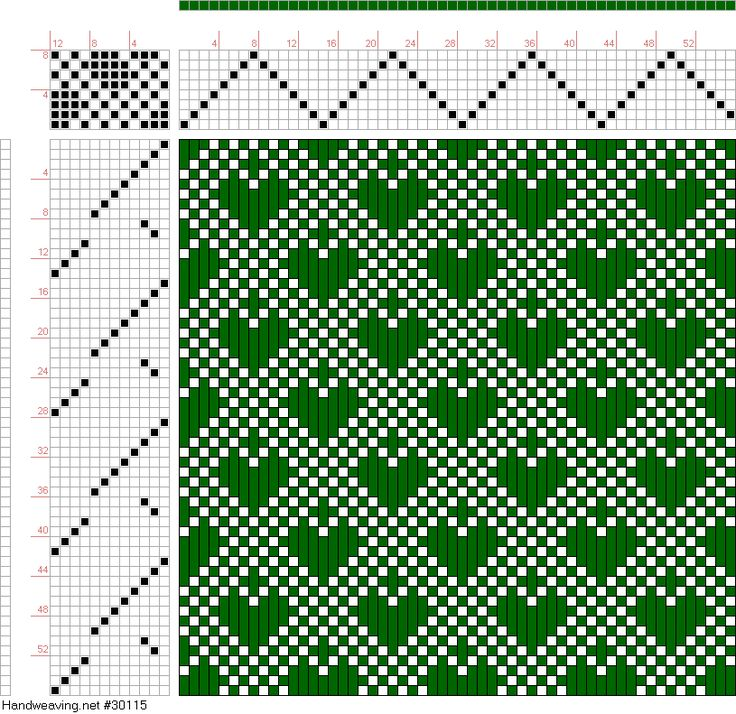 draft image: Page 213, Figure 12, Donat, Franz Large Book of Textile Patterns, 8S, 12T