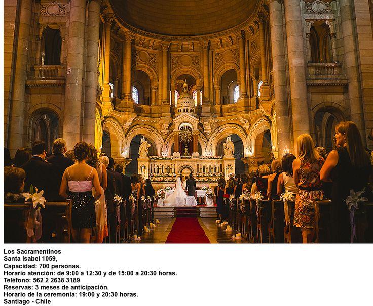 Iglesia de los Sacramentinos Santa Isabel 1059 Santiago - Chile