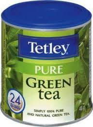 Tetley Pure Green Tea really need some to survive apex