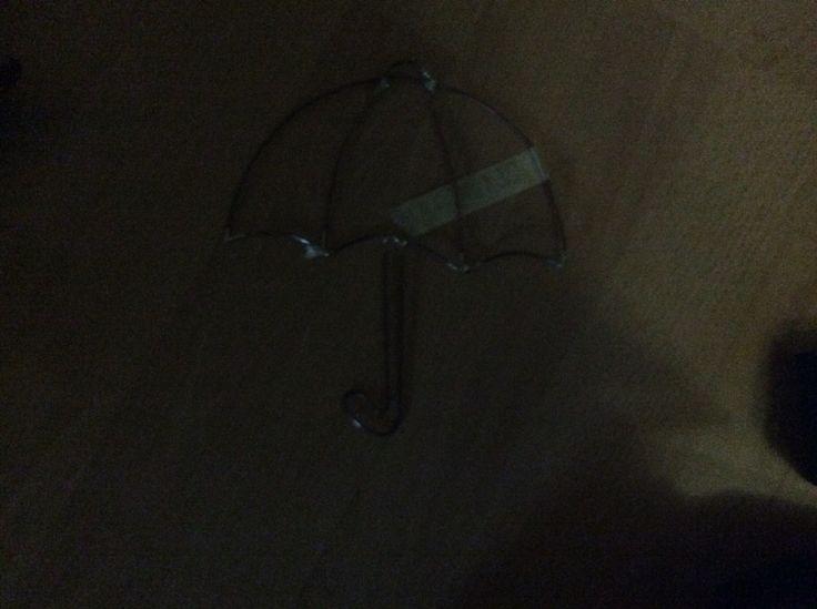 Opvouwbare paraplu houder gemonteerd kleren opknoping systeem wand