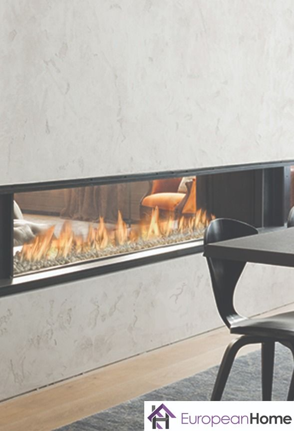 Tenore 240 By Element4 With Images Natural Gas Fireplace See Through Fireplace European House