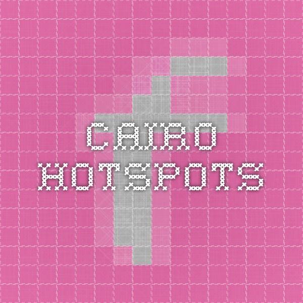 Cairo hotspots