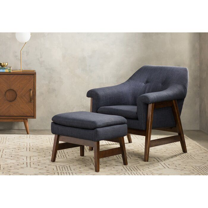 Wilber Lounge Chair And Ottoman Reviews Allmodern Chair And Ottoman Set Lounge Chairs Living Room Chair And Ottoman