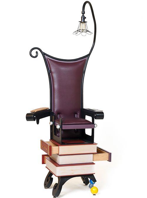 Superior Unique Furniture Pieces The Burton Chair   Inspired By Tim Burton OH MY  This Is Cool