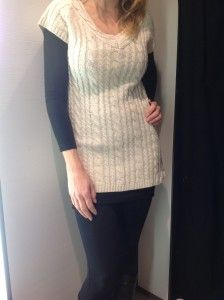 Cream Tunic R899- Zara  http://www.lipstickspin.com/blog/fashion-essentials/winter-jerseys/