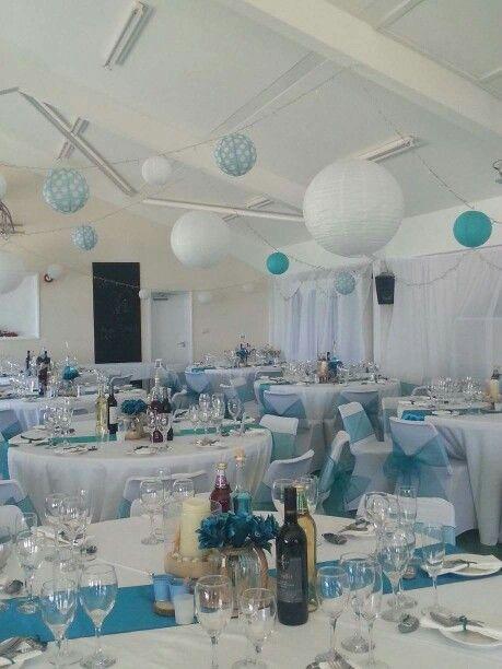 Beautiful teal wedding, The Big Fat Events Company