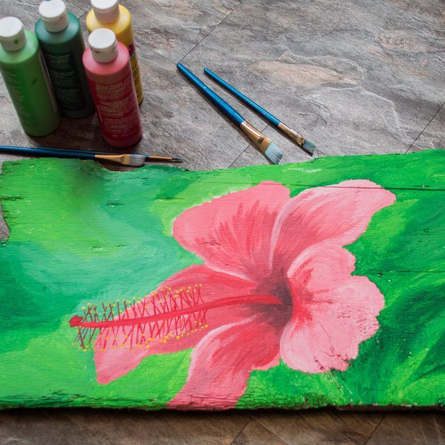 How To Use Acrylic Paint On Wood