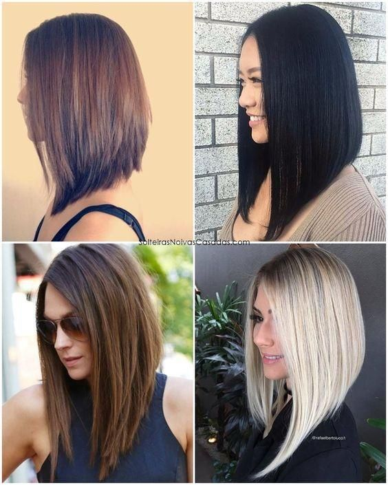 Cortes De Cabelo Da Moda Para 2018 Pinterest Long Bob Bobs And