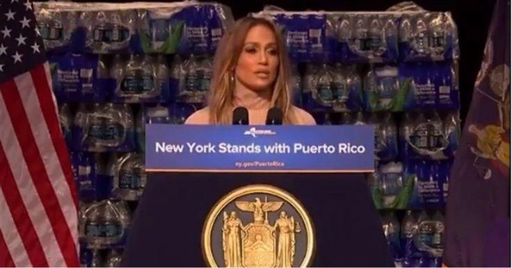 Jennifer López dona un millón de dólares para la reconstrucción de Puerto… #Farándula #donación #HuracánMaría #JenniferLópez #PuertoRico