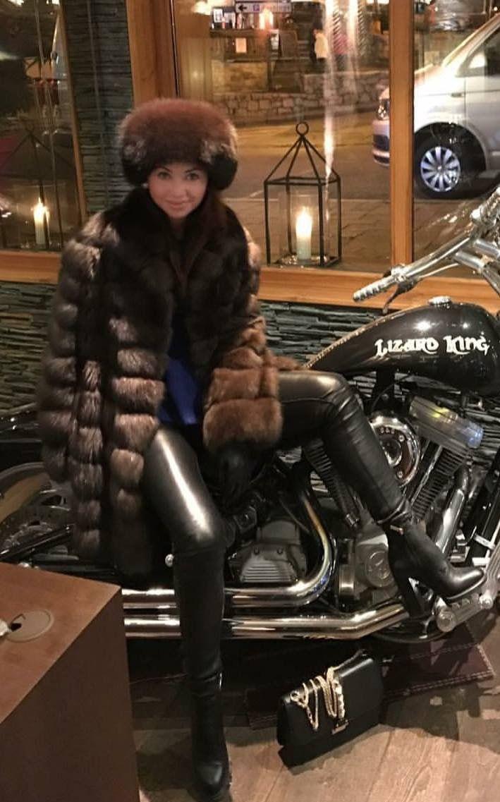 Leather jacket porn