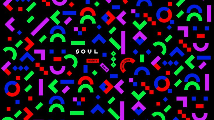 The identity for the Soul platform. Twisting and mixing the shapes from the basic identity set to receive the unexpected yet brand-friendly forms.