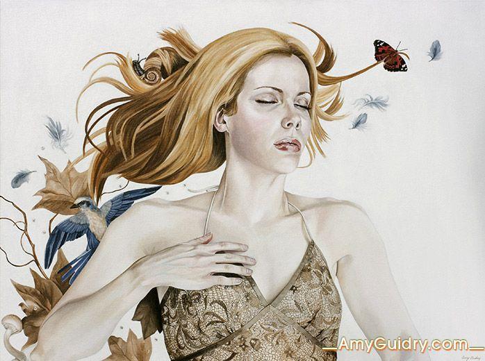 "Beginning - Acrylic on Canvas - 40"" x 30"""