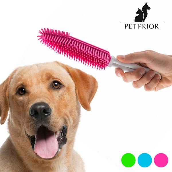 El mejor precio para Mascotas 2017 en tu tienda favorita:    https://www.compraencasa.eu/es/bienestar-e-higiene/88750-cepillo-para-perros-pet-prior.html