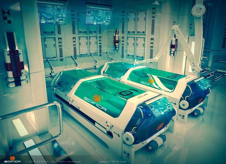SciFi Laboratory Interior 3D model by Anton Cermak   Sci-Fi   3D   CGSociety