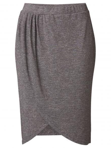 Anna Asymmetric Jersey Skirt - Jeans West $49.99