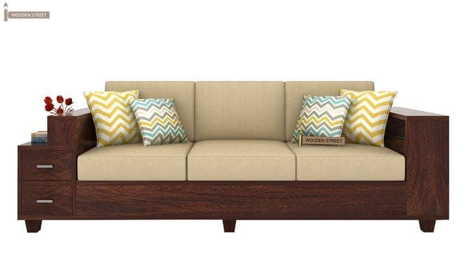 Pune Rustic Sofa Wooden Sofa Kids Room Furniture