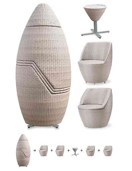 69 best tiny house living rooms images on pinterest for for Oz design outdoor furniture