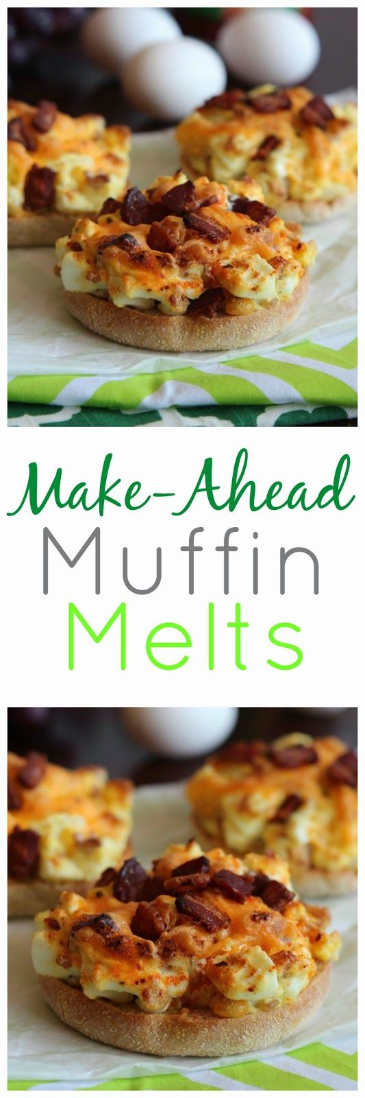 Pioneer Woman's Make-Ahead Muffin Melts - This is the PERFECT recipe ...