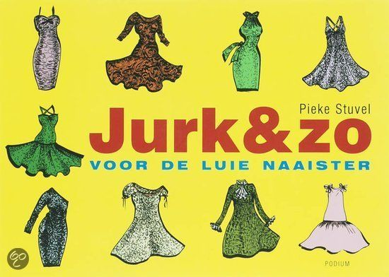 Jurk & Zo -Jurken kun je kopen, maar natuurlijk ook zelf maken. Leuker, goedkoper en vooral: origineler. Luie naaister Pieke Stuvel ontwierp simpele basisjurken waarmee je verrassend kunt variëren. Haar patronen maak je eenvoudig op maat, of je nu dik, dun, groot, klein, jong of oud bent. Met Jurk & zo naai je in een handomdraai een nieuwe jurkengarderobe in elkaar, met bijpassende wikkelvestjes en jasjes.