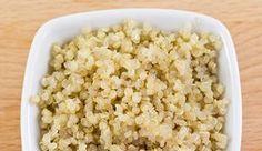 Como preparar quinoa, receta básica para cocer quinoa