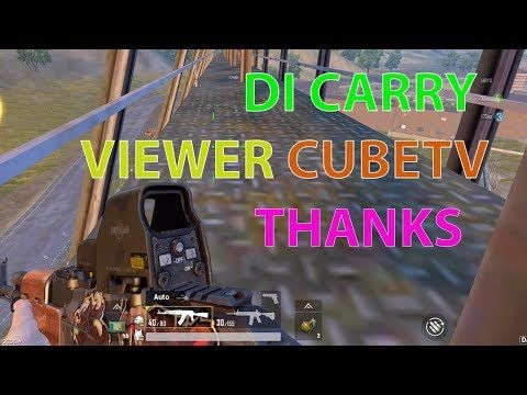 Di Carry Viewer Cubetv Live Streaming Pubg Mobile Live Gameplay Youtube Youtube Game Video