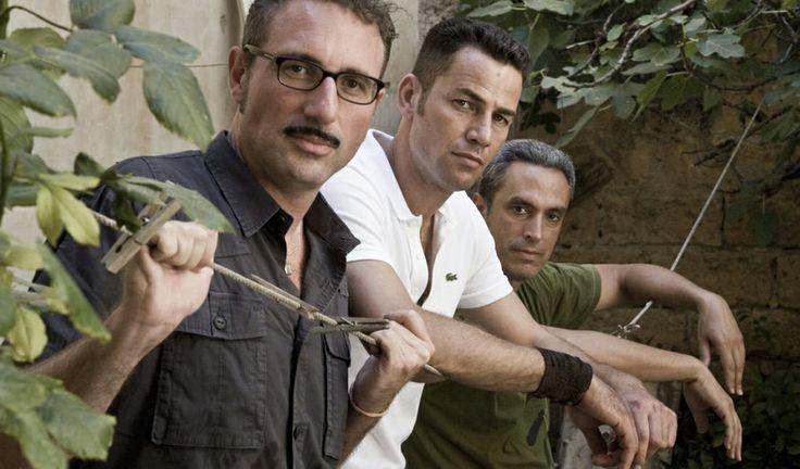 Cannes 2013 Salvo wins Critics Week - Actor Saleh Bakri with directors Fabio Grassadonia and Antonio Piazza