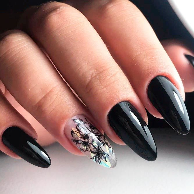 Best Hues For Almond Shaped Nails Naildesignsjournal Com Almond Shape Nails Halloween Nail Art Coffin Nails Designs