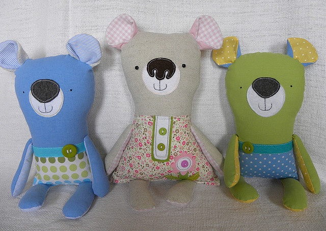 silly bears with big noses