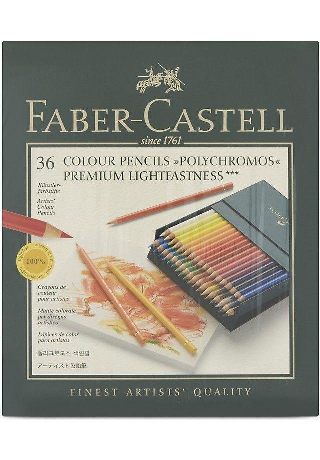 FABER CASTELL - Polychromos colour pencils set of 36 | Selfridges.com