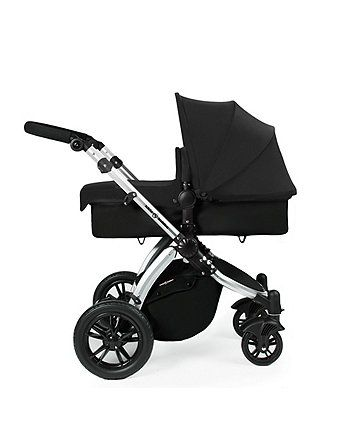 Ickle Bubba Stomp v2 All in One Travel System - Black on Silver Frame | prams & pushchairs | Mothercare
