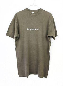 Tshirt // Bundeswehr // ausgedient.