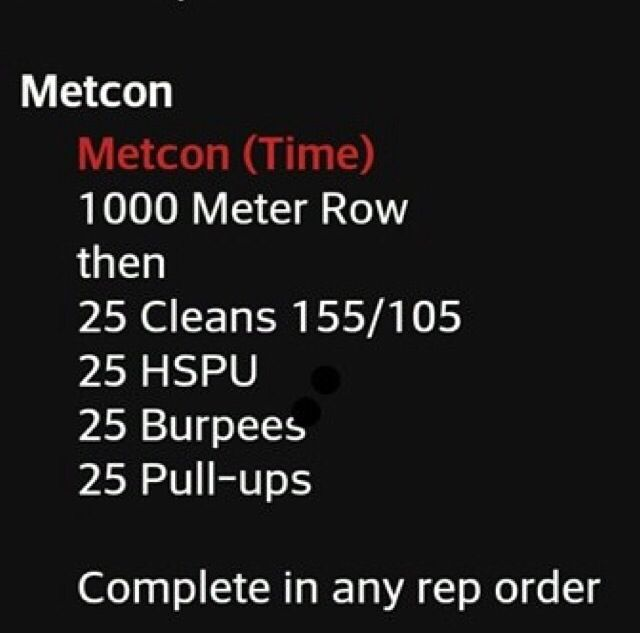 Metcon #crossfit #wod