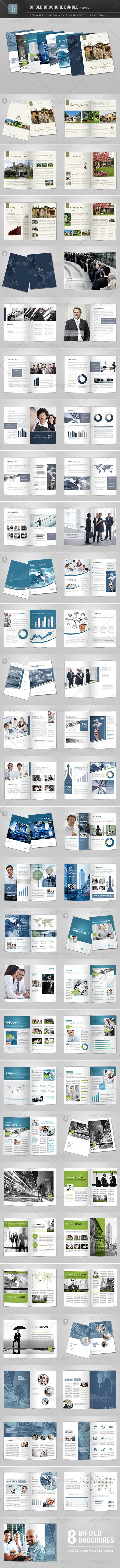 Bifold Brochure Bundle | Volume 1 - GraphicRiver Item for Sale