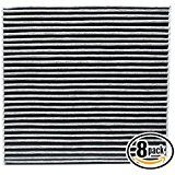 Deals week 8-Pack Replacement Cabin Air Filter for 2005 HONDA ACCORD L4 2.4L 2354cc Car/Automotive - Activated Carbon ACF... sale
