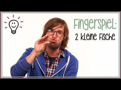 Fingerspiele: Zwei kleine Fische | mit herrh - YouTube