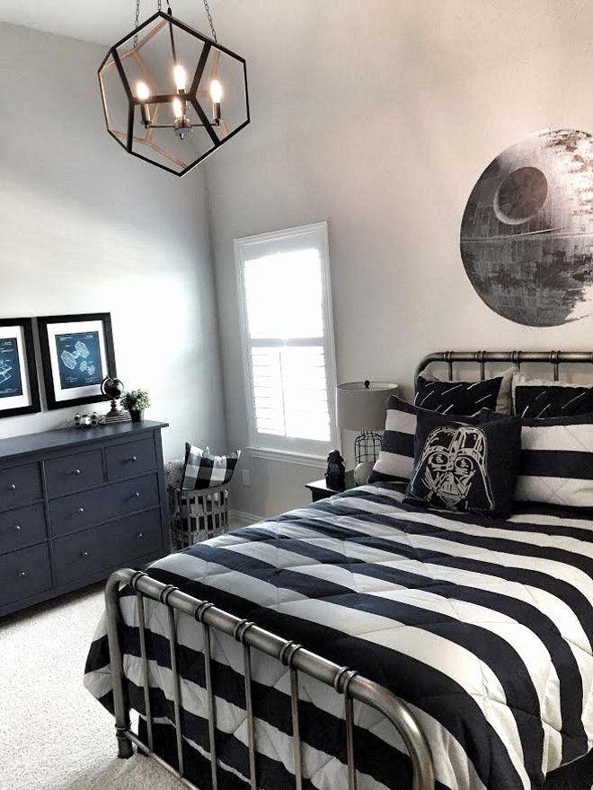 8 Year Old Boys Bedroom Lovely Boys Star Wars Room Boys ...